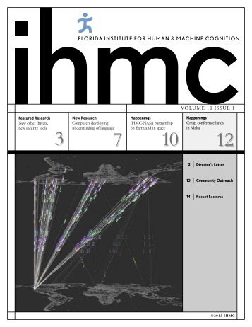 Current Issue - Institute for Human and Machine Cognition