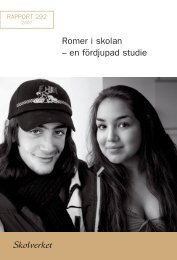 Romer i skolan - en fördjupad studie (Skolverket) 396.81 ... - Minoritet
