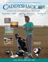 Equipment Balls Apparel Accessories Instruction - Caddyshackfla.com
