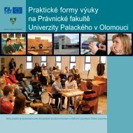 Právnická fakulta - Univerzita Palackého v Olomouci