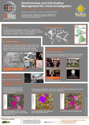 Geoforensics and Information Management for crime Investigation