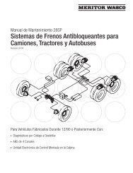 Sistemas de Frenos Antibloqueantes para ... - Meritor WABCO