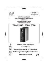 V81608A Ist.Uso Whad2000:V81608A Ist.Uso UPS Whad2000
