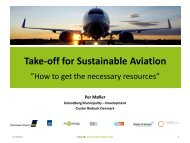 Take-off for Sustainable Aviation - Bioenergi