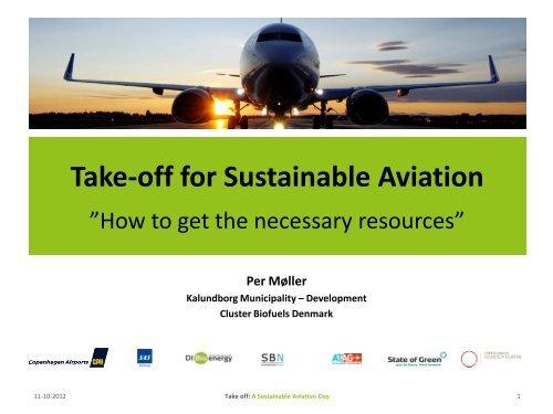 Take-off for Sustainable Aviation - Bioenergi