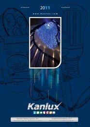 Nowości Kanlux, styczeń 2011 Uzupełnienie katalogu 2011