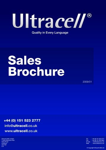 ultracell brouccher4 - Solar-Bazaar