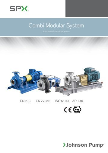 Combi Modular System overview - SPX