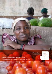 IrIsh AId AnnuAl report 2011 Accountable to People, Accounting for ...