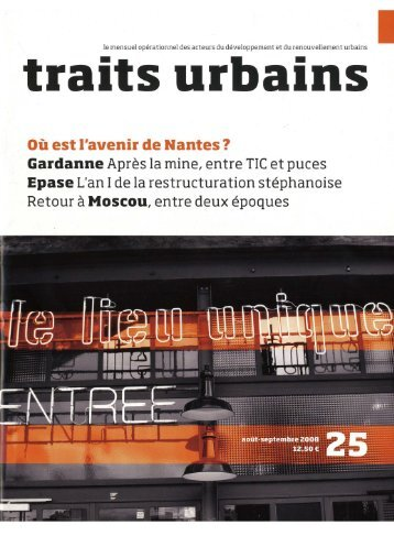 traits urbains - Atelier Boudry