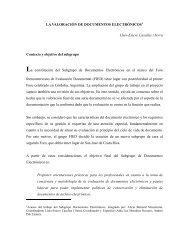 LA VALORACIÓN DE DOCUMENTOS ELECTRÓNICOS Lluís ...