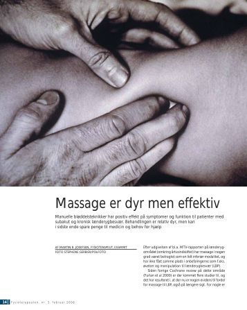 """Massage for Low Back Pain"" (pdf)"