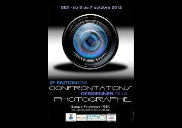 CONFRONTATIONS GESSIENNES DE LA PHOTOGRAPHIE Opus ...
