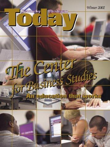 FALL TODAY 2002 - Kentucky Wesleyan College