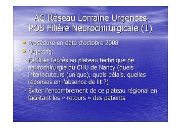 POS neurochirurgie - COLMU