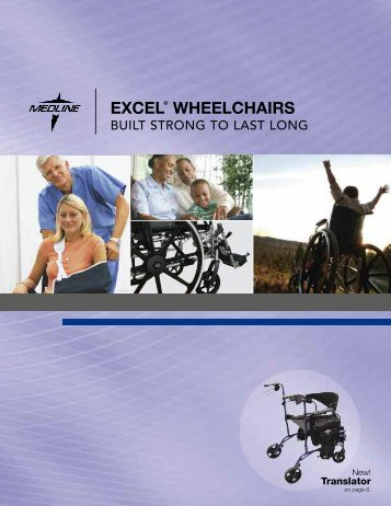 Medline Wheelchair Catalogue - CAN-med Healthcare