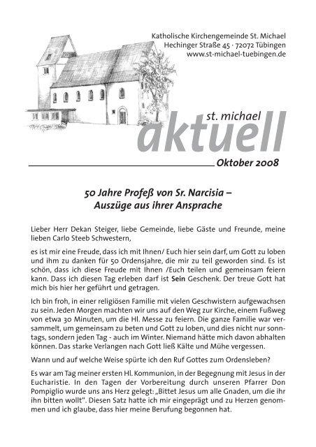 Oktober 2008 - Katholische Kirchengemeinde St. Michael