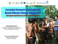 Atiq Kainan Ahmed, Plan International - Regional Climate Change ...