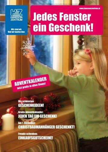 Jedes Fenster ein Geschenk!