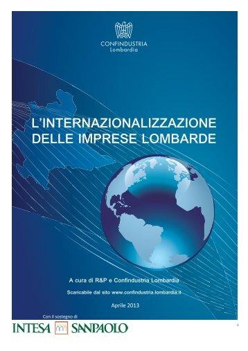 Rapporto internazionalizzazione 2013.pdf - Unione degli Industriali ...