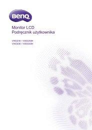 Instrukcja Obsługi Monitor LCD BENQ VW2230H - Instrukcjapolska.pl