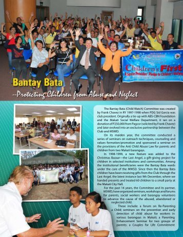 The Bantay Bata - Rotary Club of Makati