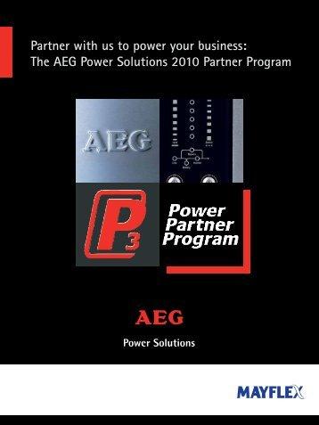 AEG 4pp A4 P3 brochure_AEG brochure - Mayflex