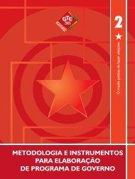 Caderno Metodologia e Instrumentos 2008