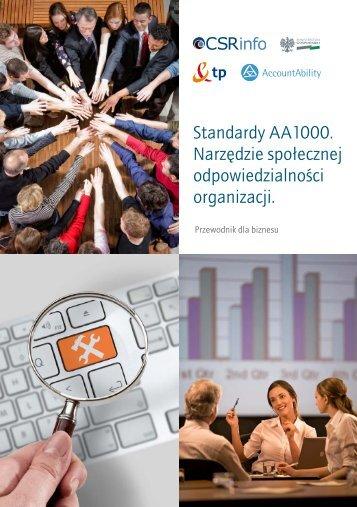 Standardy AA1000. Narzędzie społecznej ... - AccountAbility