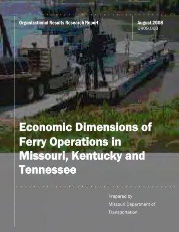 Ferry Operations Repor