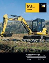 304.5 Mini Hydraulic Excavator - AEHQ5407