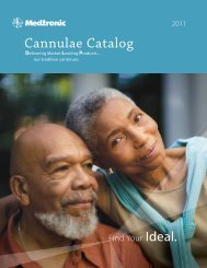 Cannulae Catalog - Find your ideal - Medtronic