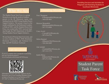 Student Parent Task Force - Winona State University