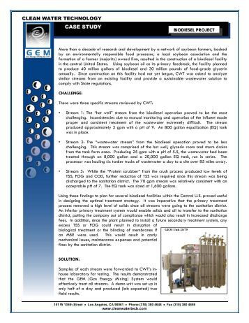 liquid chemical case study This chapter describes all the case studies that have been identified as illustrating the importance of the technical assessment criteria in preventing, controlling.