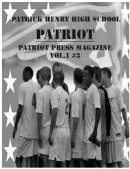 Patriot Press Volume 1, Issue 3 - History - Minneapolis Public Schools