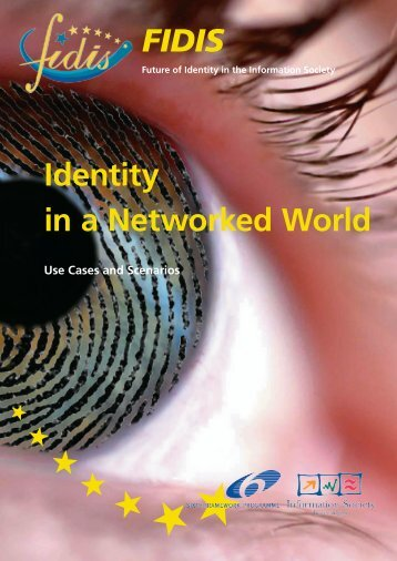 FIDIS Identity in a Networked World