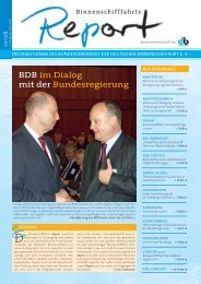 BDB im Dialog mit der Bundesregierung - Bundesverband der ...