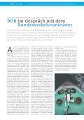 BDB im Dialog mit der Bundesregierung - Bundesverband der ... - Page 4
