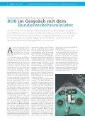 BDB im Dialog mit der Bundesregierung - Bundesverband der ... - Seite 4