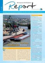 Warten auf den Ausbau der Donau - Bundesverband der Deutschen ...
