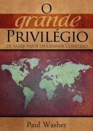 Paul Washer – O Grande Privilegio - WordPress – www.wordpress ...