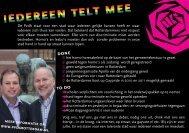 Klik hier voor meer informatie - PvdA Rotterdam