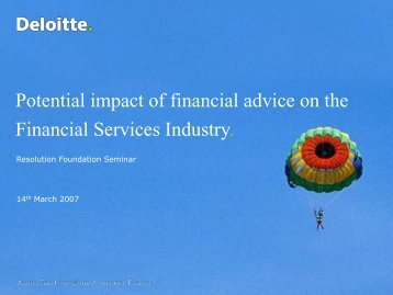 PP0705The role of the financial services industry - Resolution ...