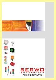 Katalog 2011/2012 - Serwo Automatyka