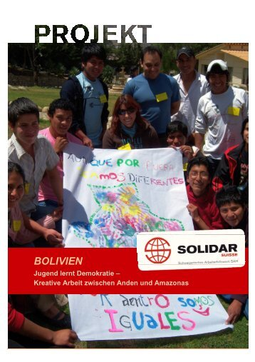BOLIVIEN - Solidar Suisse