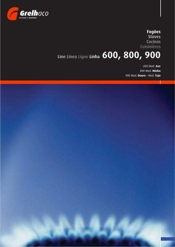 Catálogo Grelhaço - Fogões Industriais