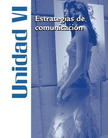 Estrategias de comunicación Estrategias de comunicación