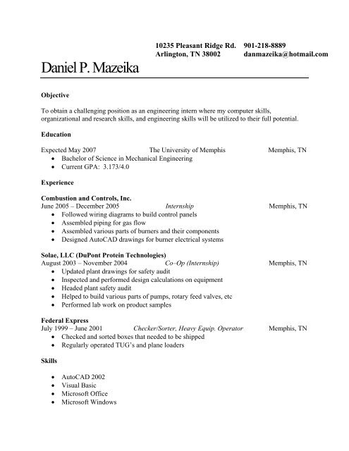 memphis wiring diagram daniel p mazeika mechanical engineering university of memphis  daniel p mazeika mechanical