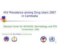 HIV Prevalence among Drug user 2007 EN.pdf - HIV/AIDS Data Hub