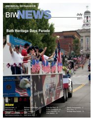 Bath Heritage Days Parade - Bath Iron Works